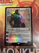 MTG MAGIC AMONKHET GIDEON OF THE TRIALS (ENGLISH GIDEON DES EPREUVES) NM FOIL