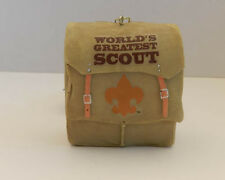 WOODBADGE  BOY SCOUT BACKPACK ORNAMENT  WOOD BADGE