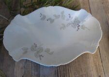 Tirschenreuth Hutschenreuther  baronesse blaue beere Fleischplatte Platte