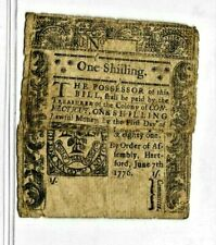 "(1 SHILLING) ""OLD COLONIAL "" 1776 (1 SHILLING)""OLD COLONIAL"" 1776  RARE!! SEWN !"