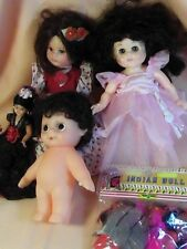 Vintage Dolls Vogue Ginny Fcm plus ethnic Lot of 7