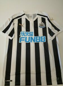 "PUMA Newcastle United Home Shirt 2020 -2021 Size EUR L Ref. CN1757"""