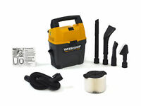 WORKSHOP Wet Dry Vacs WS0301VA 3-Gallon Portable Vacuum with Car Cleaning Kit