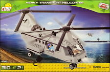 COBI Heavy Transport Helicopter (2365) - 310 elem. - Modern Small Army aircraft