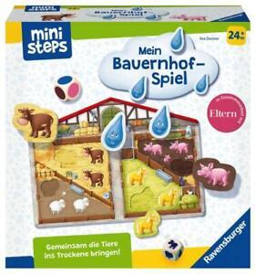 Ravensburger ministeps Spielzeug Unser Bauernhof-Spiel 04173