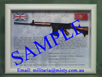 SLR, Self Loading Rifle - British Timber Stock