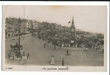 The Aquarium, Brighton RP, 1917 PMK by WH Smith, Detailed & Animated Scene