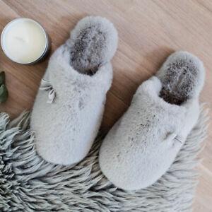 Bedroom Athletics Amber Luxury Faux Fur Mule Women's Slippers