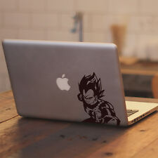 "Dragon Z Vegeta Punching Anime for Macbook Air Pro 11 13 15 17"" Decal Sticker"