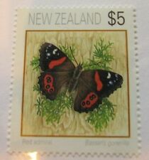c1995 New Zealand SC #1079 RED ADMIRAL BUTTERFLY MNH