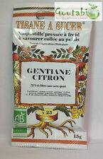 Biopastilles - Tisanes à sucer Gentiane / Citron Bio - 15 g