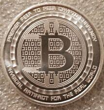 Bitcoin Guardian 1 oz .999 fine Solid silver commemorative Digital AI w/ COA new