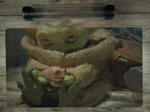 Star Wars: The Mandalorian Baby Yoda SW/YuGiOh/MTG Custom TCG Playmat Free Tube