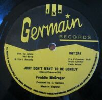 """FREDDIE McGREGOR ~ Just Dont Want To Be Lonely ~ 12"""" Single"""