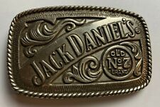 Used Belt Buckle Themed Collectible Character 4 inch Jack Daniels Old No 7 brand