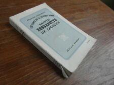 FRANCOIS DUHOURCAU / SAINTE BERNADETTE DE LOURDES Grasset 1934