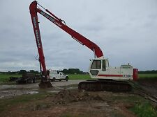 Linkbelt longreach excavator, 60 foot reach, 1 1/4 bucket