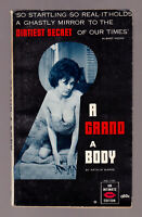 A Grand A Body, Arthur Warne vintage 1963 Intimate GGA erotica sleaze VG-EX