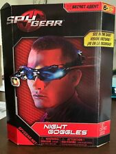 Vision Enhancing Night Goggles Spy Gear Bright LED Lights Blue Tinted Lenses