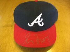 Greg Maddux Signed Game Hat Cap Atlanta Braves HOF COA