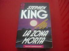 STEPHEN KING: LA ZONA MORTA. OSCAR MONDADORI 1991 BESTSELLERS n.135 HORROR!