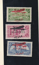 alaquites 1929 Sc C17/9 air stamps,opt,set         p879