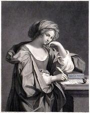 SIBILLA PERSICA SUO NOMINE SAMBETHE DICTA 1780 Pietro Fontana - Guercino ETCHING