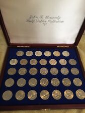John F Kennedy Silver Half Dollar Collection 1964-1998 Coin Collection