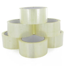 12 Rolls of Wide Long SELLOTAPE ~ ~ clear selotape packing tape cellotape