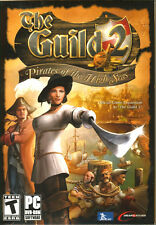 The Guild 2 Pirates of the High Seas (PC DVD) New & Factory Sealed, US Shipper