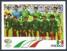 PANINI FIFA WORLD CUP-GERMANY 2006- #244-MEXICO TEAM PHOTO