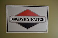 Briggs & Stratton Engine Banner Sign Mower Repair Shop Ad Logo Free Shipping