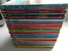 DISNEY'S & DISNEY-PIXAR BOOKS, LOT OF 35 BOOKS