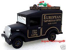 Dept. 56 Village Express Van Black European Imports Il 1994 Gathering 07390