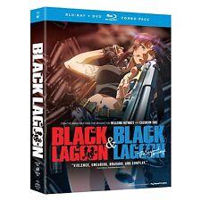 Black Lagoon . The Complete Series . Season 1 + 2 Anime . 4 DVD + 3 Blu-ray NEU