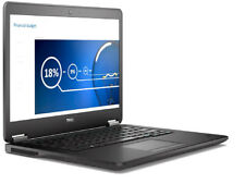 "Dell Latitude E7450 Intel i5 5300u 2.3G 8Gb Ram 128Gb SSD HD 14"" Win 10 Pro PC"
