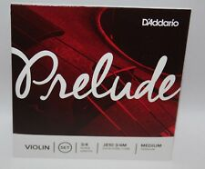 D'ADDARIO PRELUDE Corde Violon Violin Tension Medium 3/4M J810