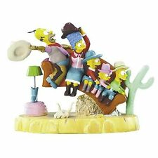 """Hamilton Collection The Simpsons """"Couch Rodeo"""" Couch Gags Sculpture Collection"""