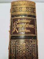 Antik Buch #Brockhaus Konversationslexikon Achter Band Leipzig 1893