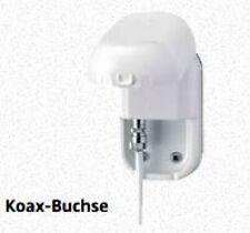 Außensteckdose für terrestrische Antennen - weiß -