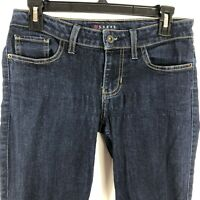 Guess Jeans Women's 24 x sh (Actual 28x31) Low Rise Dark Wash Power Skinny
