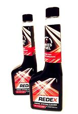 2 X  REDEX DIESEL INJECTOR FUEL SYSTEM CLEANER INCREASE FUEL ECONOMY-250ml