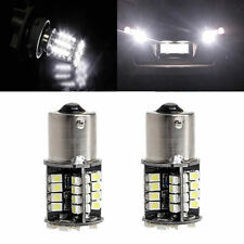 2x 1156 BA15S P21W 3528 SMD 44 LED Canbus No Error Car White Tail Brake Light
