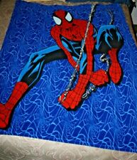 Spiderman Fleece Throw Blanket