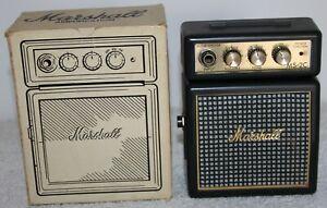 Marshall MS-2C Micro Amp. 2002. Still Boxed. Superb Mini Rocker!