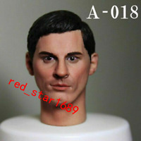 1/6 Scale A-18 Male Soldier man Head Sculpt Carved Fit 12'' Action Figure Body