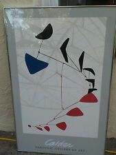 Calder Lithograph Poster print  national gallery of art mobile 1976