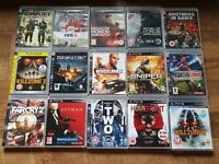 Playstation 3 PS3 Game Bundle - Mix RPG Shooter FPS Sniper Killzone Army Two #02
