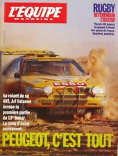 l'Equipe magazine n°434 - 1990 - Rugby - Paris Dakar - Alberto Juantorena -