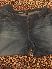 Lane Bryant Womens  Sexy Jeans 28 Plus Size Distinctly Boot Cut Denim